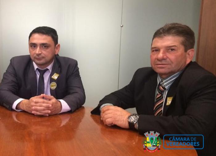 Vereadores viajam à Brasília em busca de recursos.