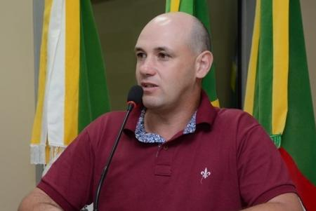 Vereador André Becker (DEM), eleito presidente para o próximo biênio.
