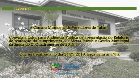 Câmara Municipal Convida